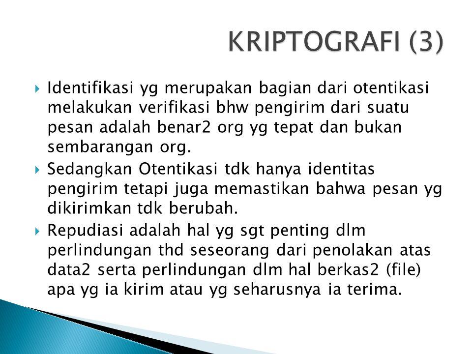 KRIPTOGRAFI (3)