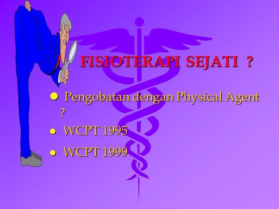 Pengobatan dengan Physical Agent