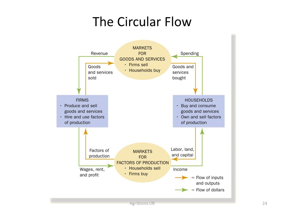 The Circular Flow Agribisnis UB
