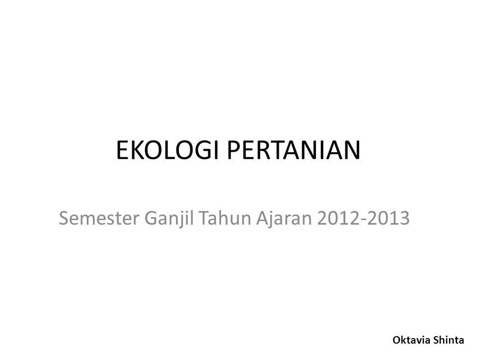 Semester Ganjil Tahun Ajaran 2012-2013