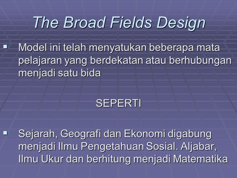 The Broad Fields Design