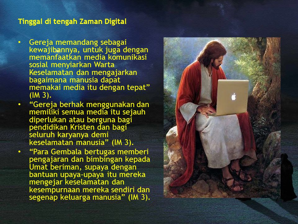 Tinggal di tengah Zaman Digital