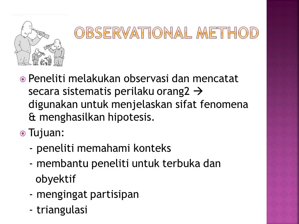 Observational Method