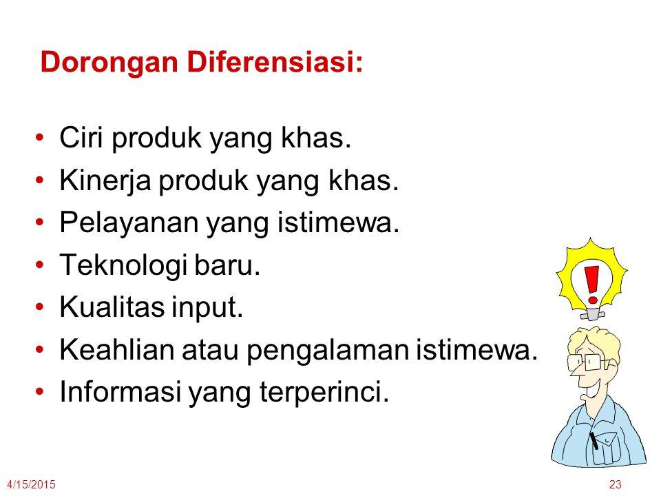 Dorongan Diferensiasi:
