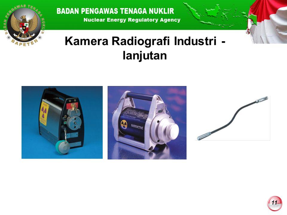 Kamera Radiografi Industri - lanjutan