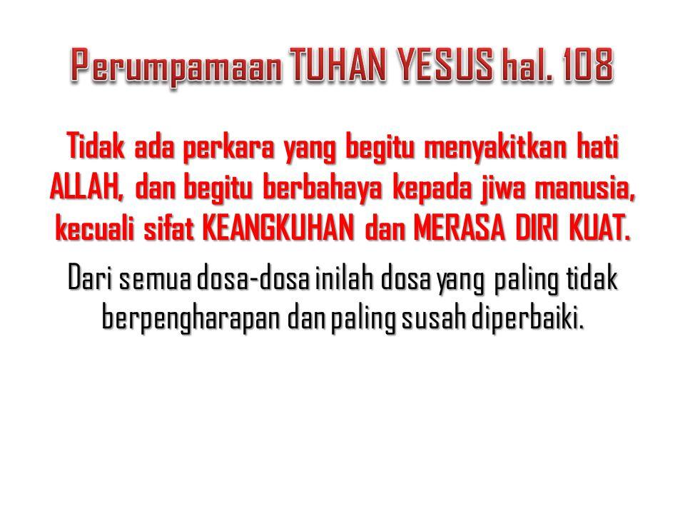 Perumpamaan TUHAN YESUS hal. 108