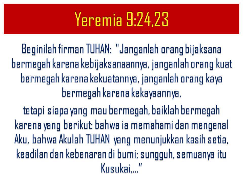 Yeremia 9:24,23