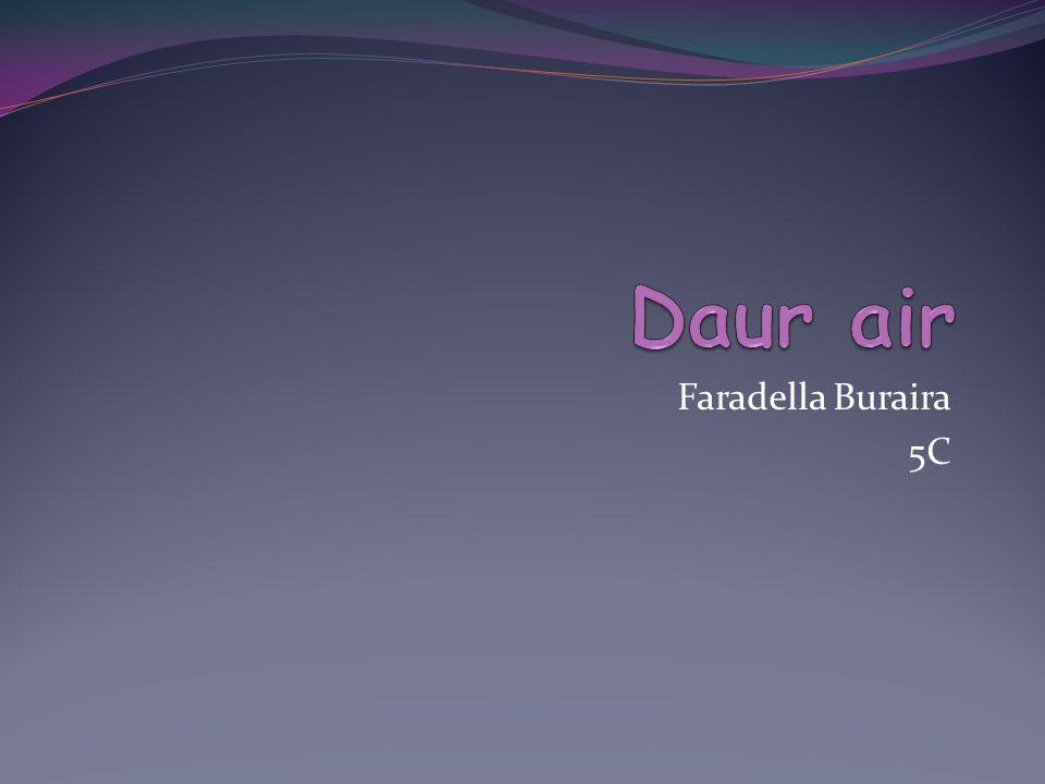 Daur air Faradella Buraira 5C