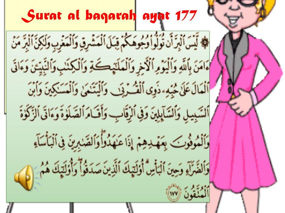 Surat al baqarah ayat 177