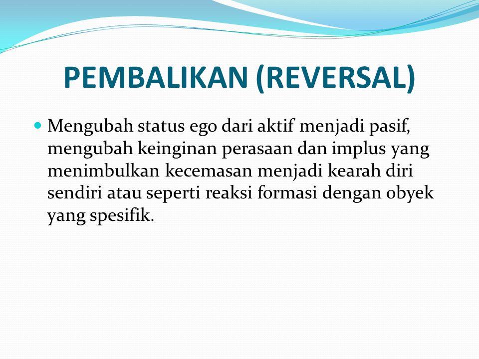 PEMBALIKAN (REVERSAL)