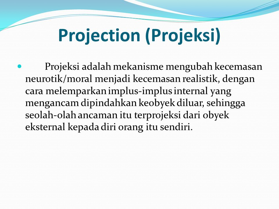 Projection (Projeksi)