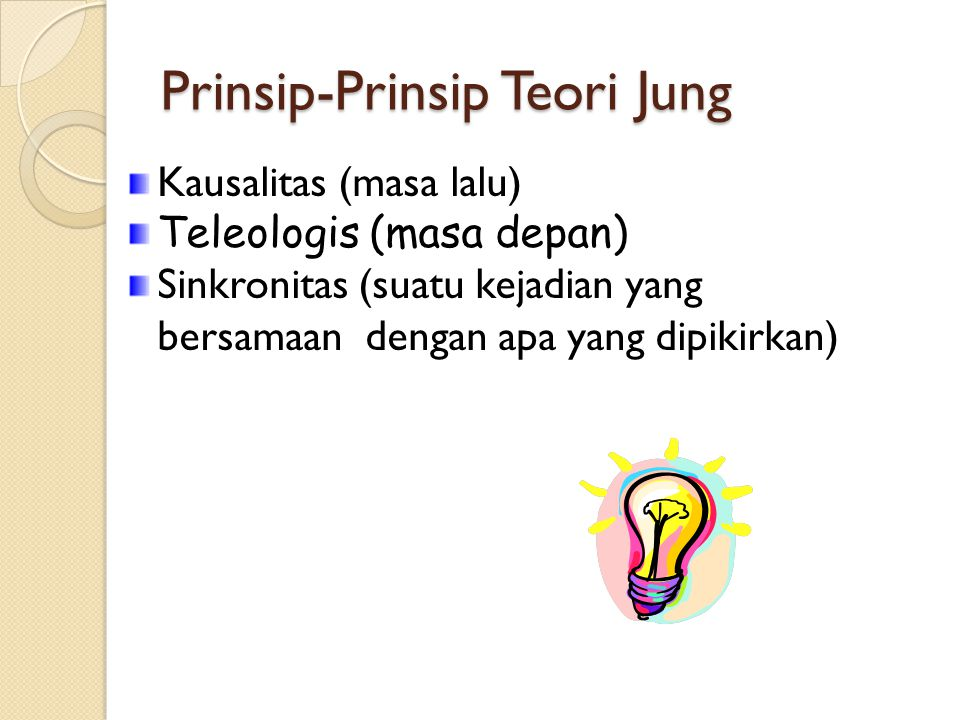 Prinsip-Prinsip Teori Jung