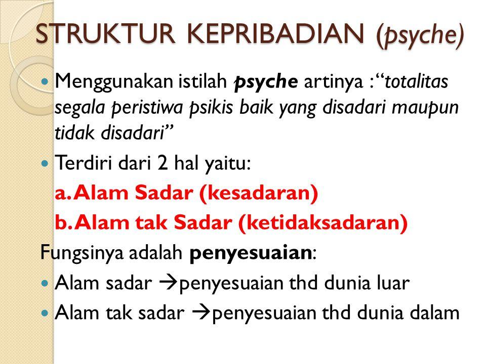 STRUKTUR KEPRIBADIAN (psyche)