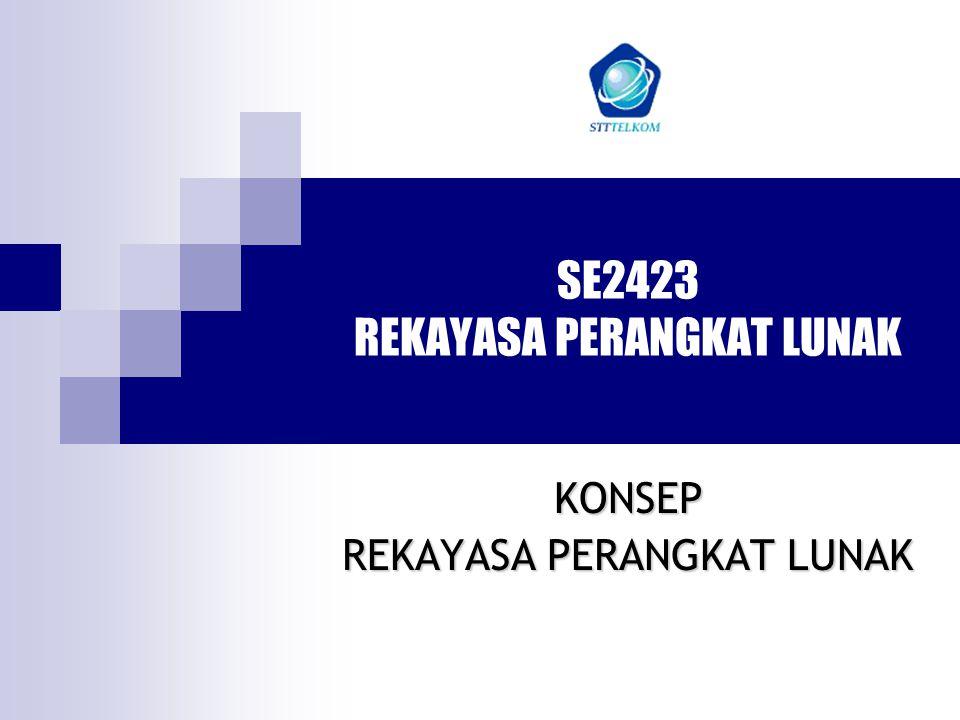 SE2423 REKAYASA PERANGKAT LUNAK