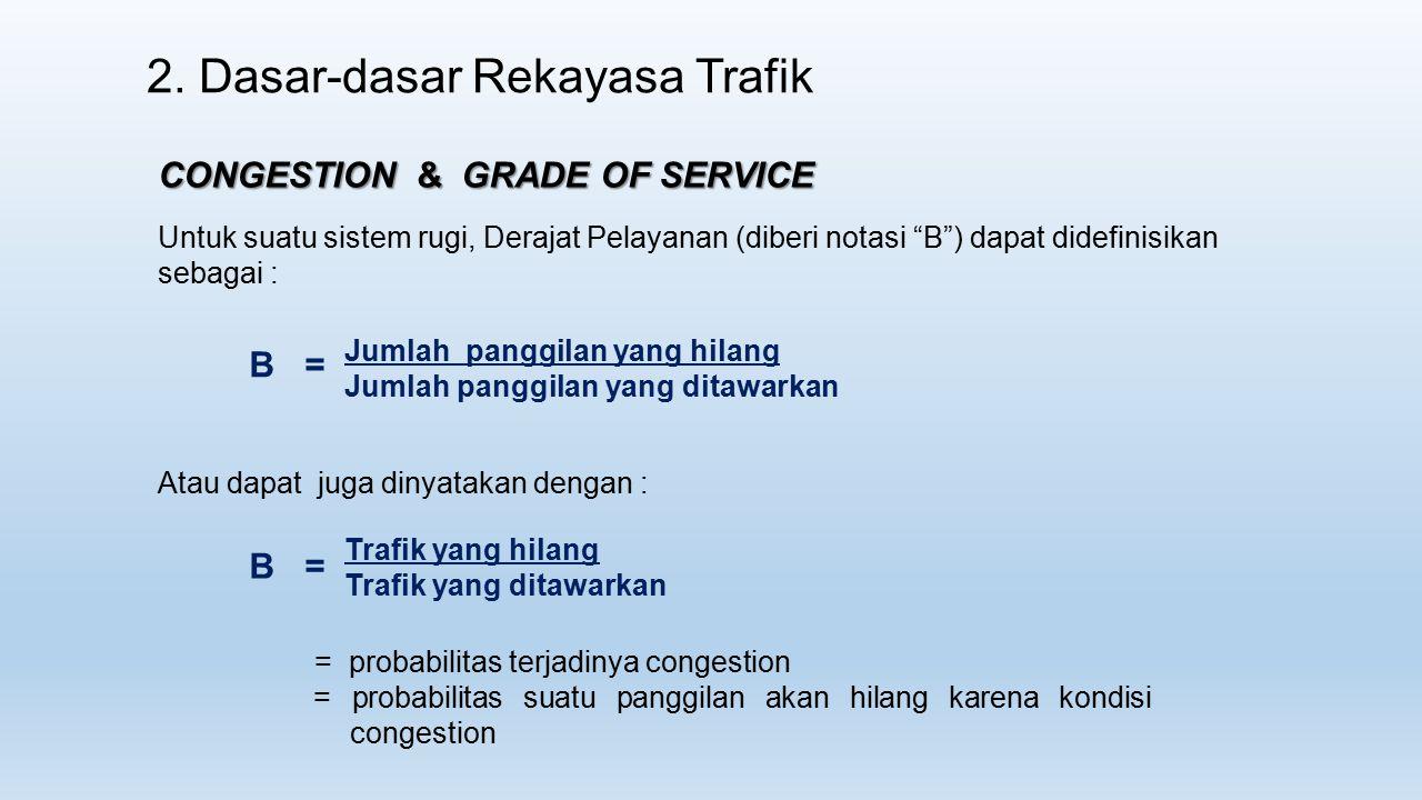 2. Dasar-dasar Rekayasa Trafik