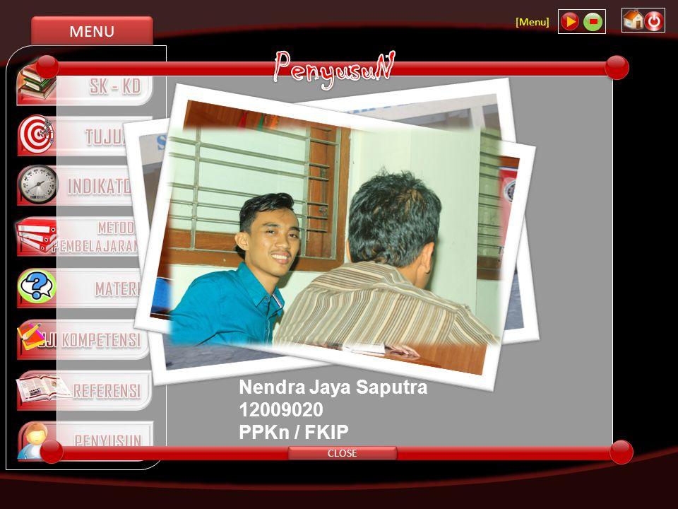 PenyusuN Nendra Jaya Saputra 12009020 PPKn / FKIP 4/12/2017 CLOSE