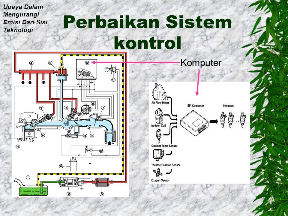 Perbaikan Sistem kontrol
