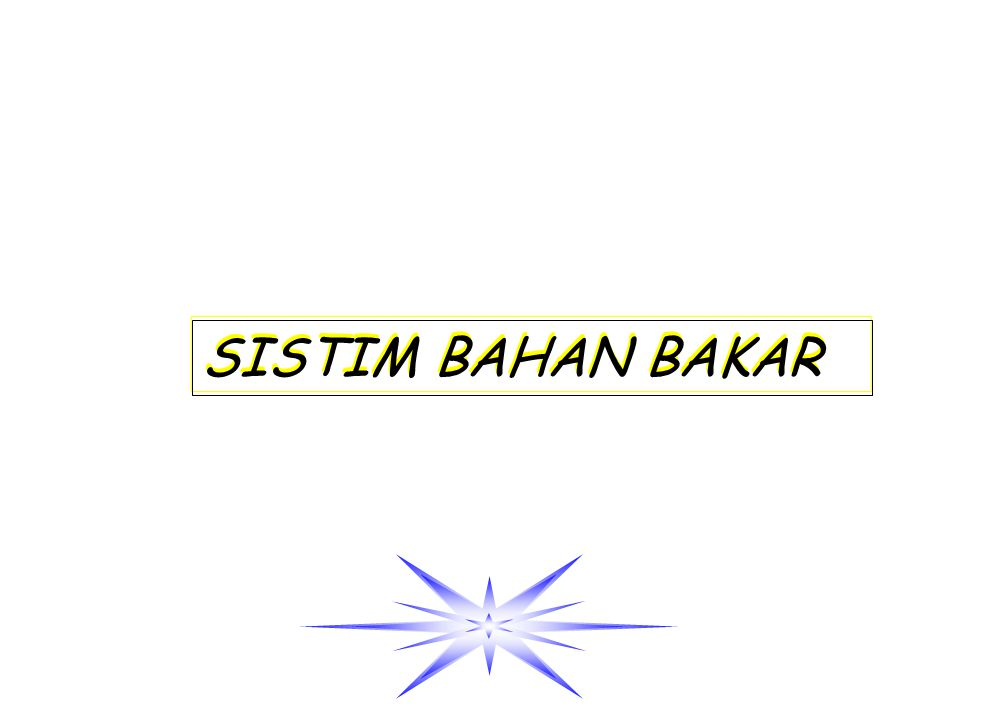 SISTIM BAHAN BAKAR
