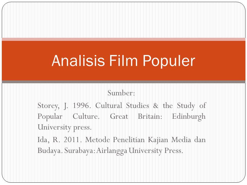 Analisis Film Populer Sumber: