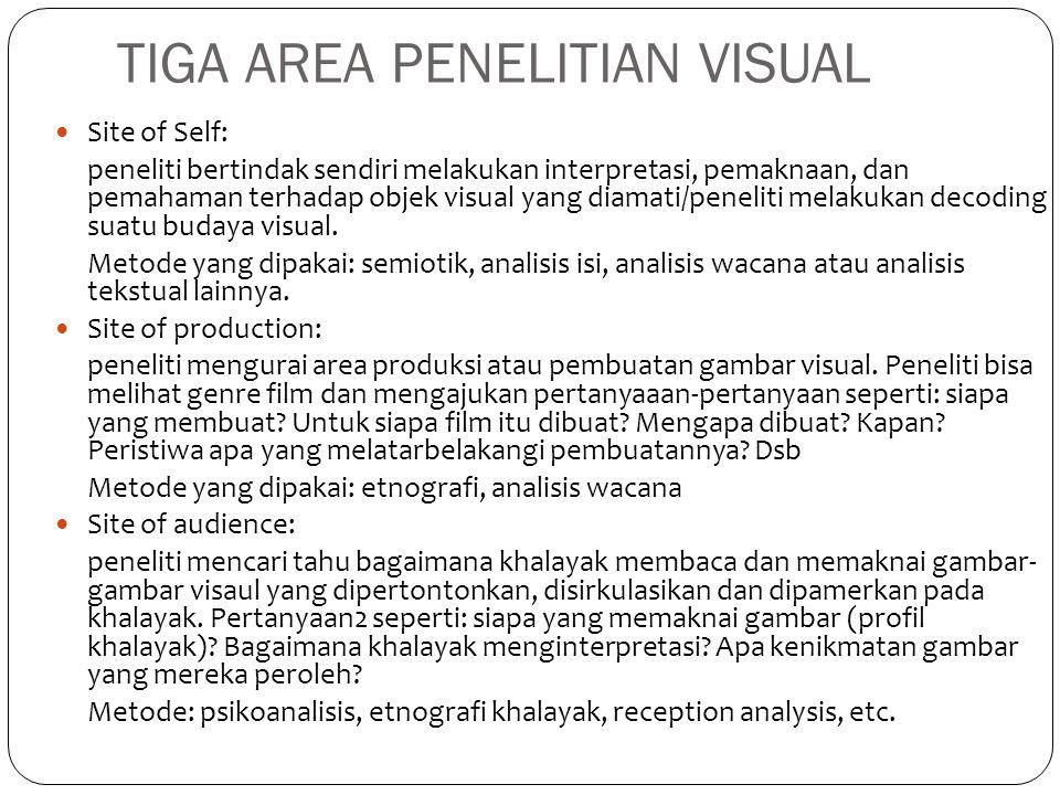 TIGA AREA PENELITIAN VISUAL