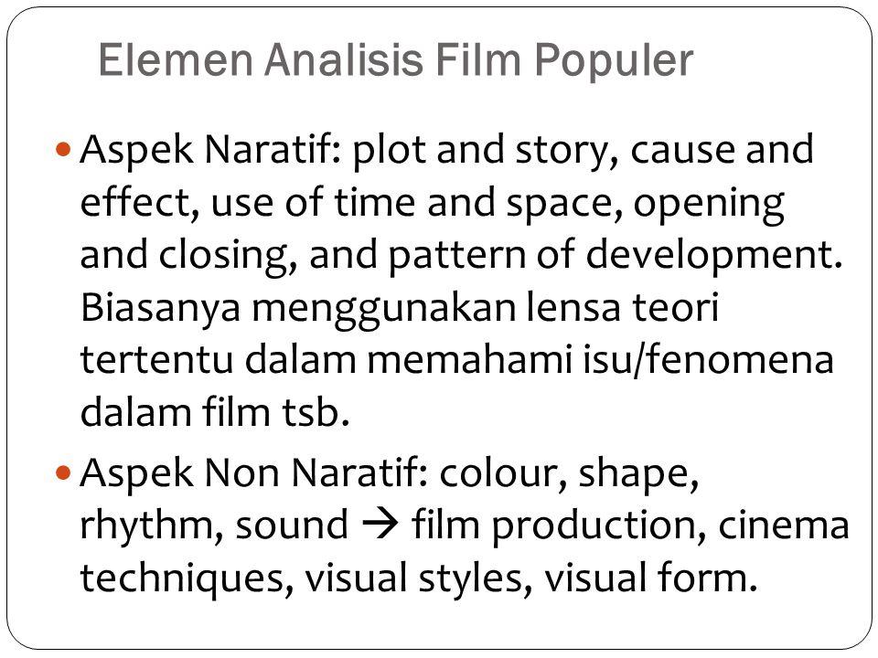 Elemen Analisis Film Populer
