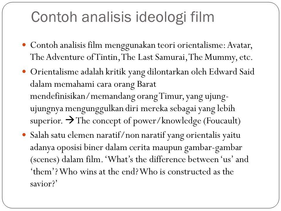Contoh analisis ideologi film