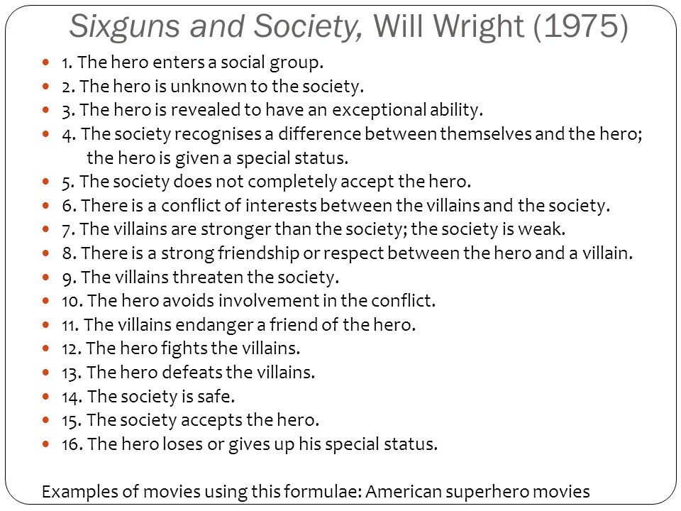 Sixguns and Society, Will Wright (1975)