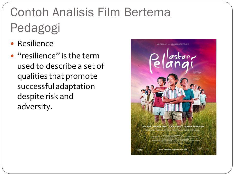 Contoh Analisis Film Bertema Pedagogi