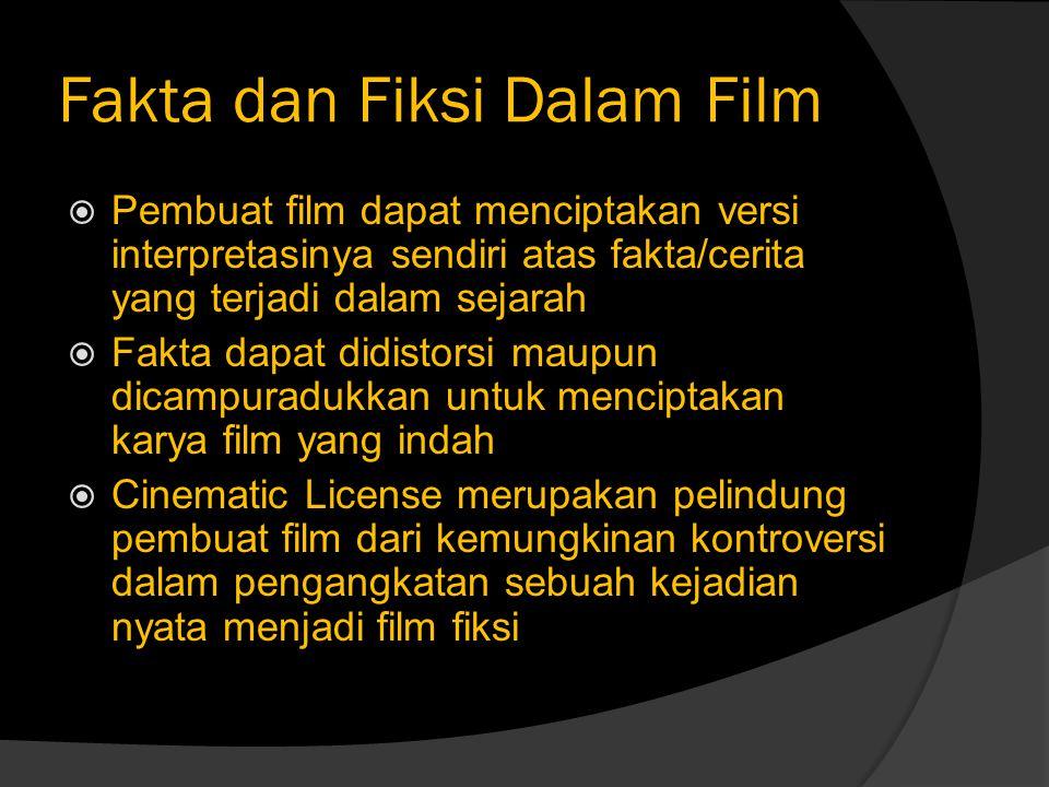 Fakta dan Fiksi Dalam Film