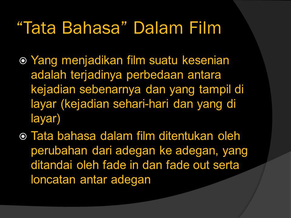 Tata Bahasa Dalam Film