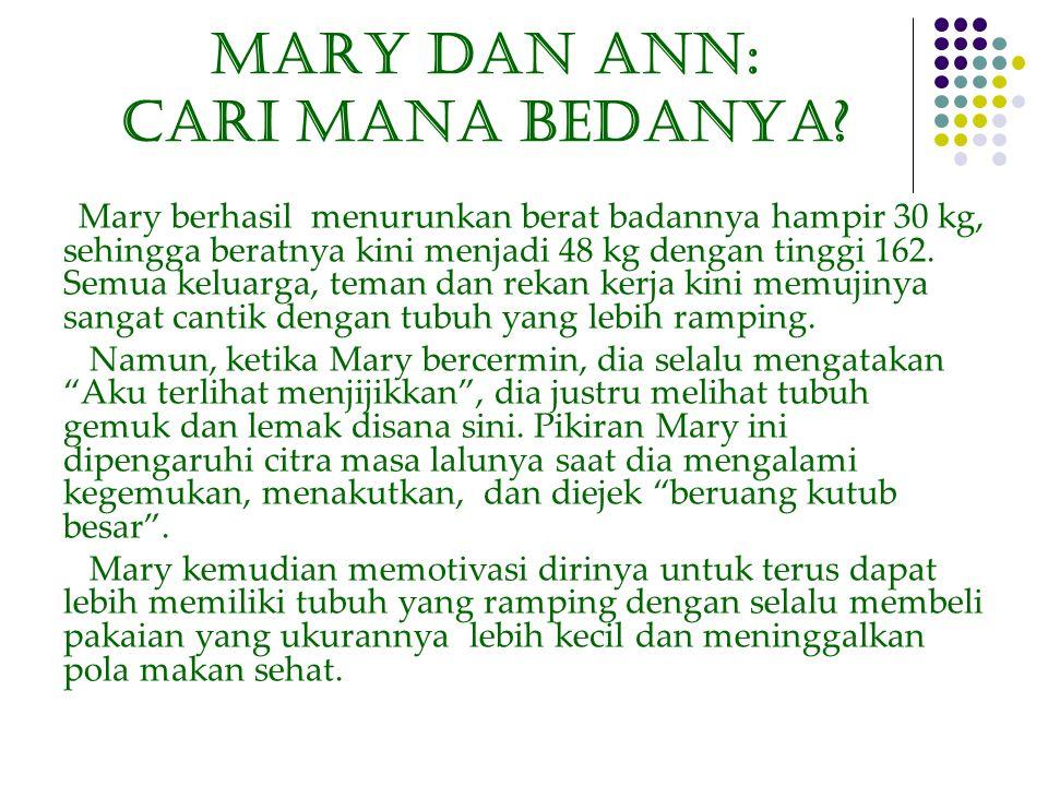 Mary dan ANN: CARI MANA BedaNYA