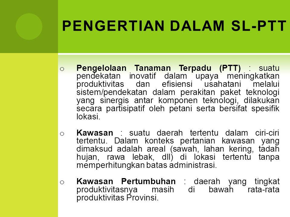 PENGERTIAN DALAM SL-PTT