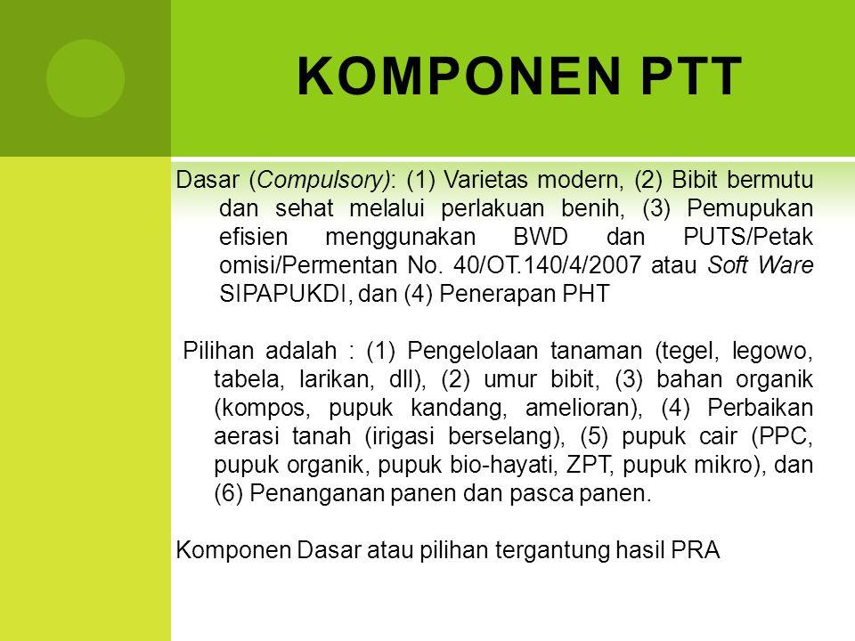 KOMPONEN PTT
