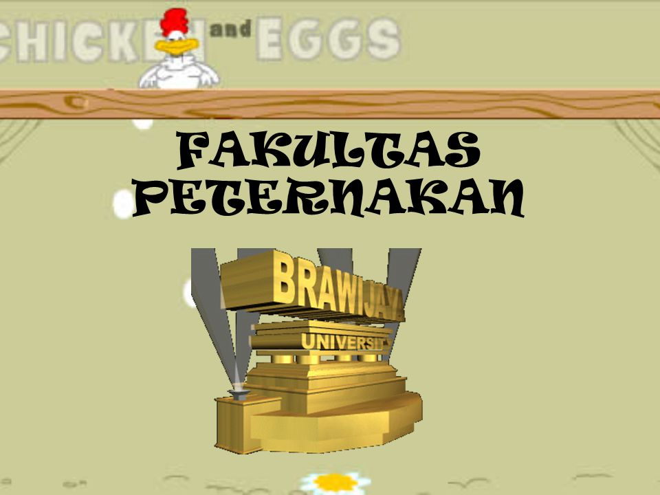 FAKULTAS PETERNAKAN