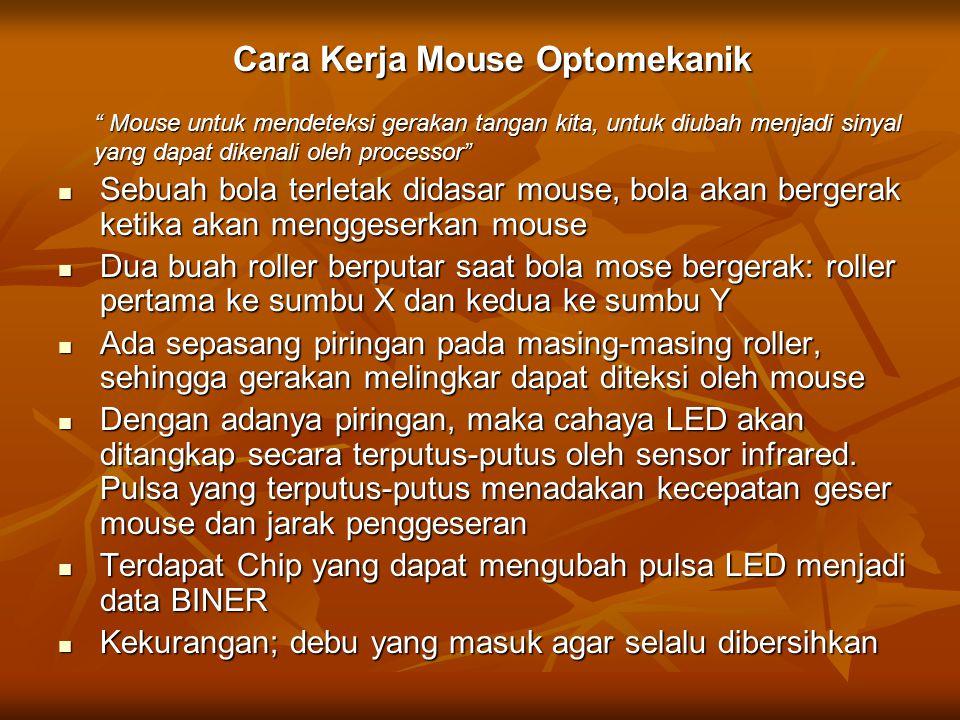 Cara Kerja Mouse Optomekanik