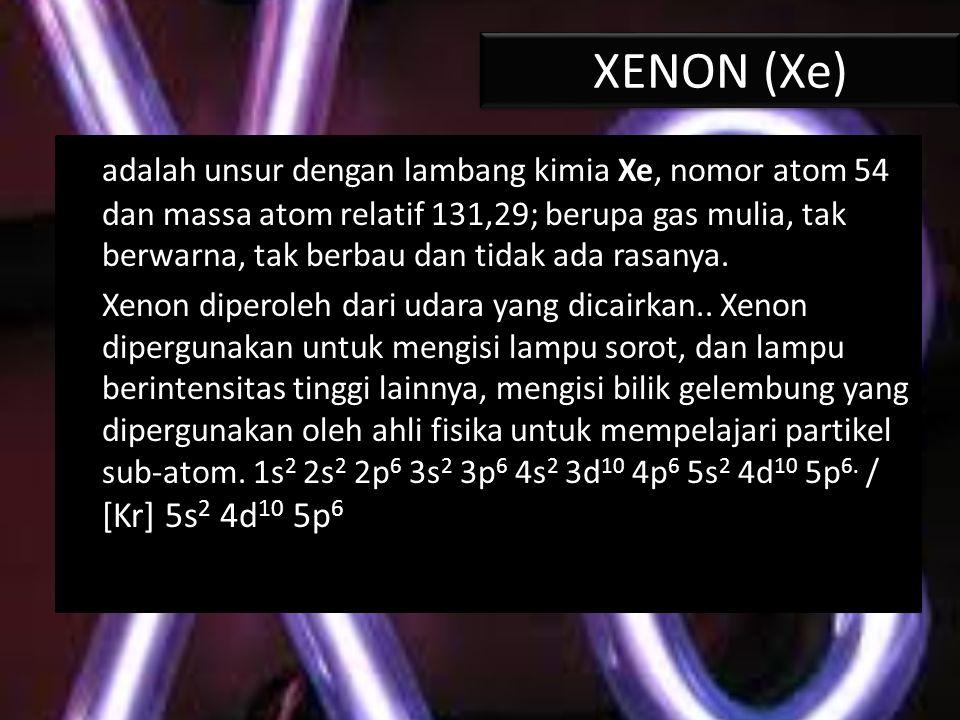 XENON (Xe)