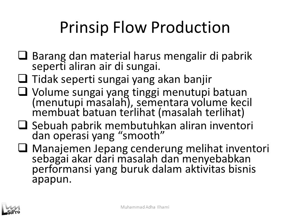 Prinsip Flow Production