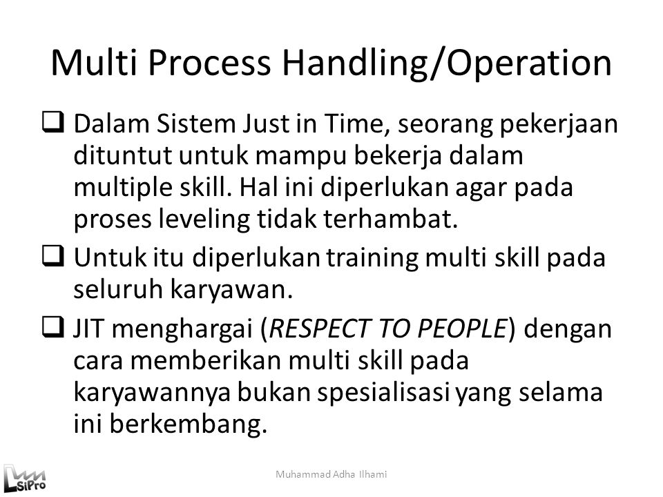 Multi Process Handling/Operation