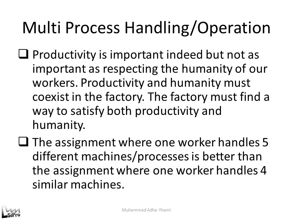 Multi Process Handling/Operation