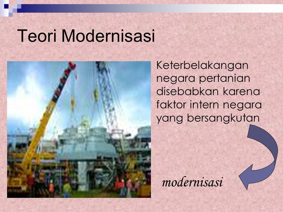 Teori Modernisasi modernisasi