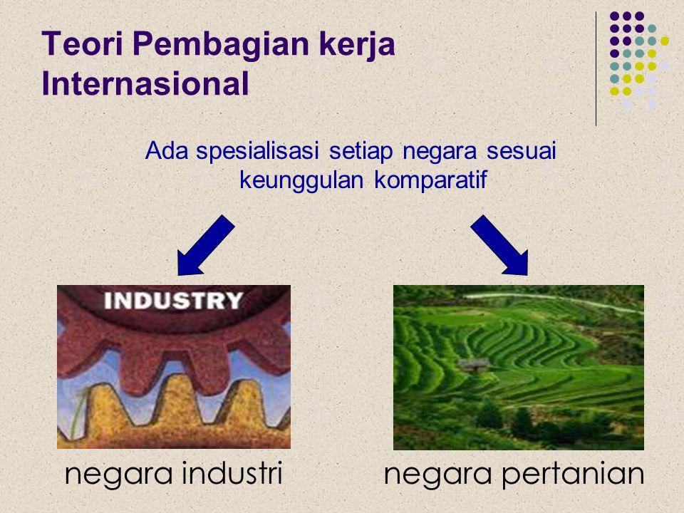 Teori Pembagian kerja Internasional