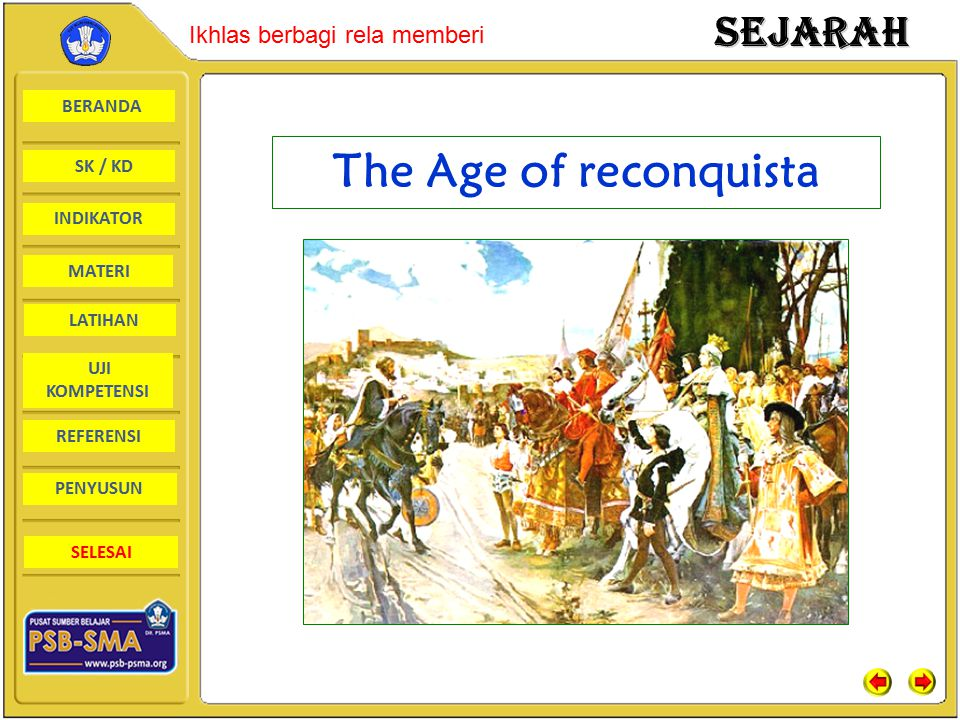 The Age of reconquista