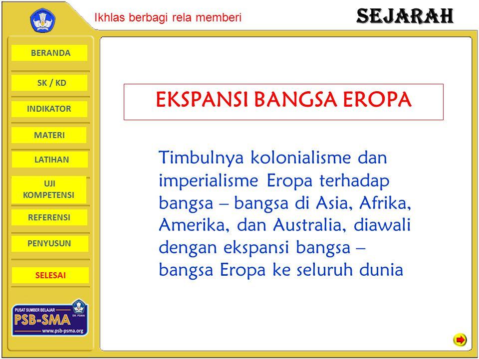 EKSPANSI BANGSA EROPA