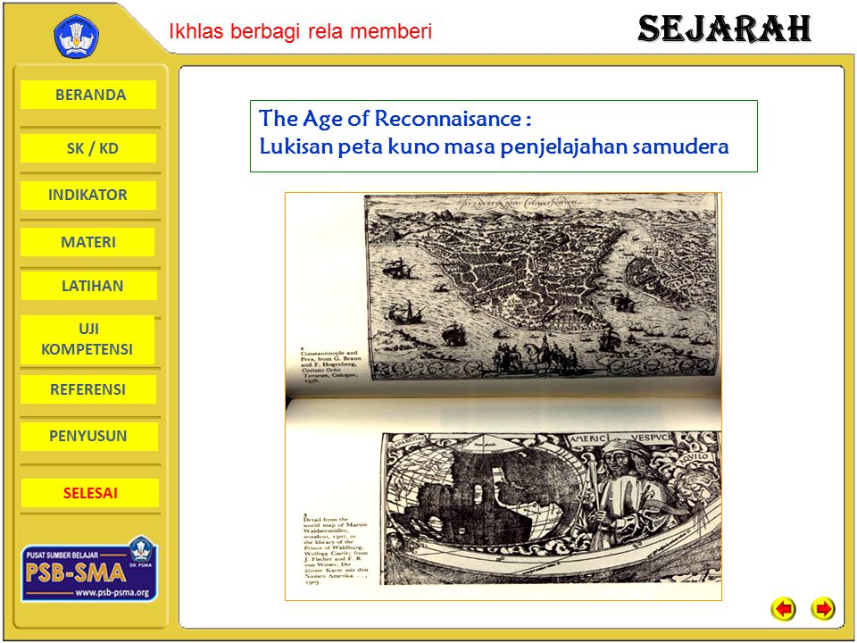 The Age of Reconnaisance : Lukisan peta kuno masa penjelajahan samudera