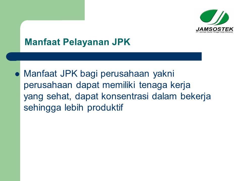 Manfaat Pelayanan JPK