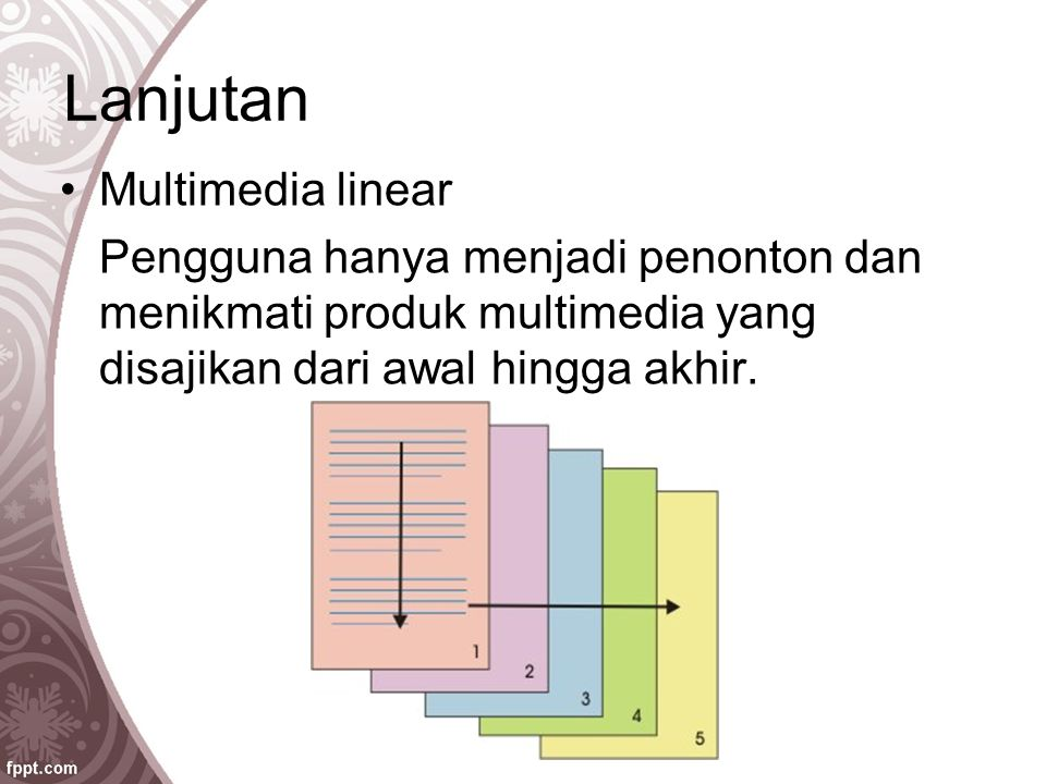 Lanjutan Multimedia linear