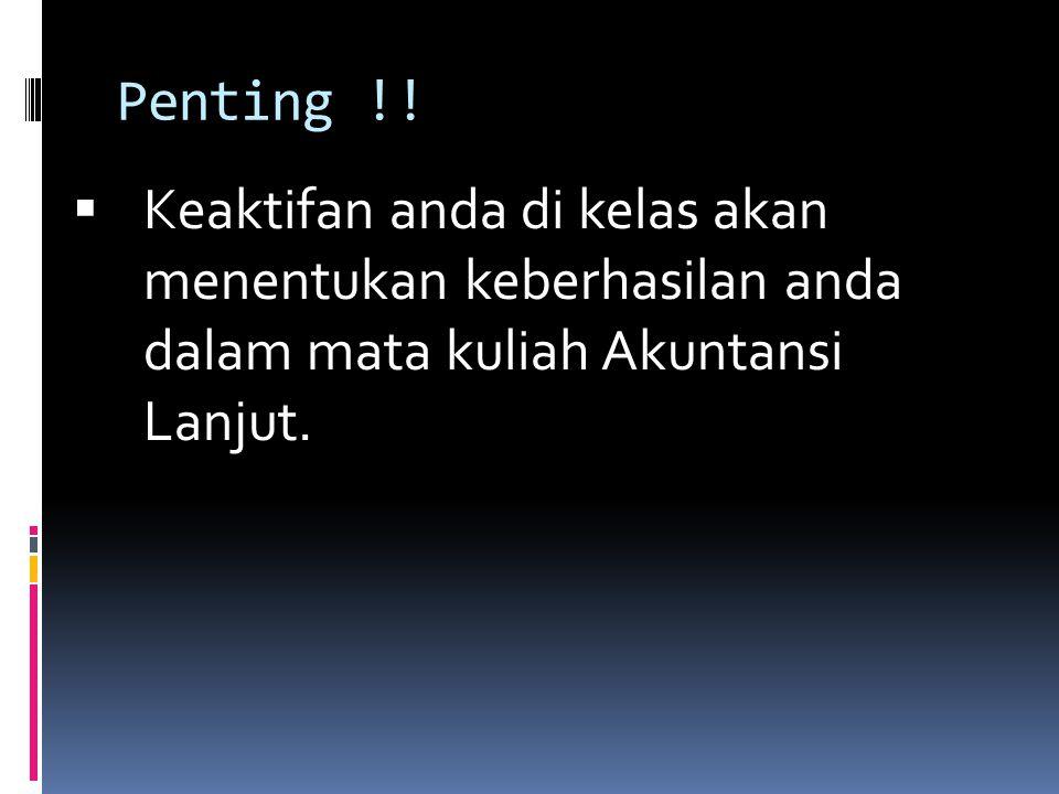 Penting !.