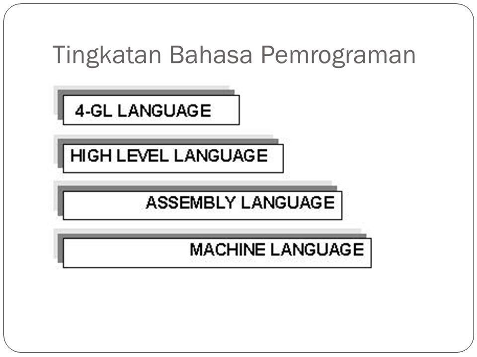 Tingkatan Bahasa Pemrograman