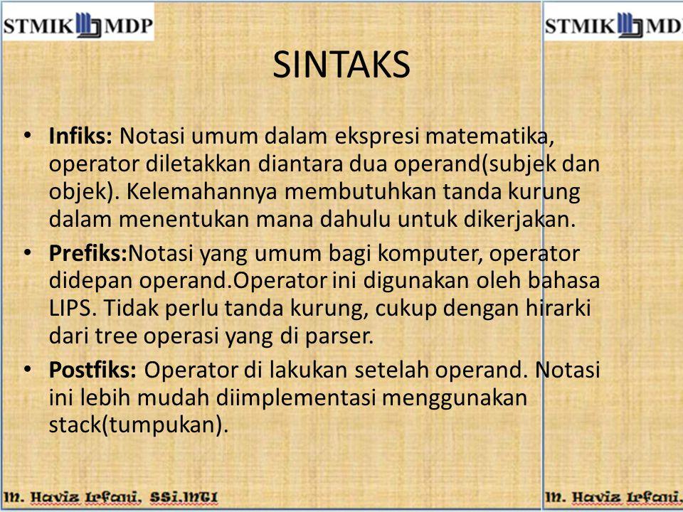 SINTAKS