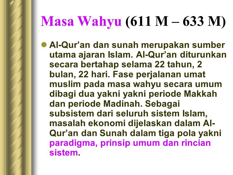 Masa Wahyu (611 M – 633 M)